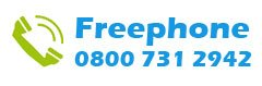 Freephone Direct Drain Services: 0800 731 2942