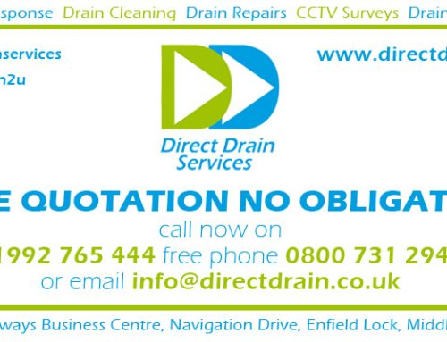 Direct Drains Preventative Maintenance Service