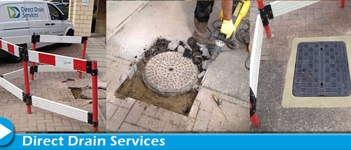 Manhole cover repairs