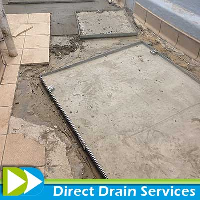 Drain inspection cover repairs London