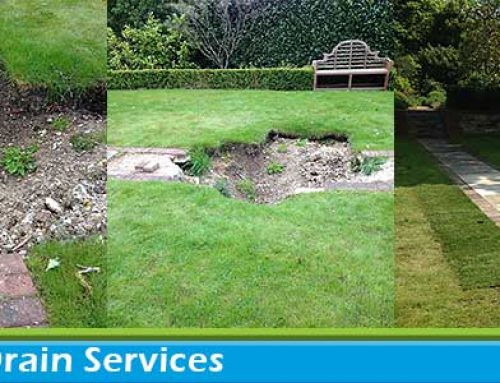 Sink Hole & Drain Repairs in Bromley, Kent