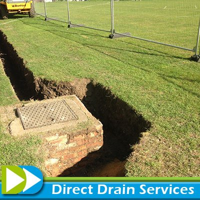 Man hole repairs North London