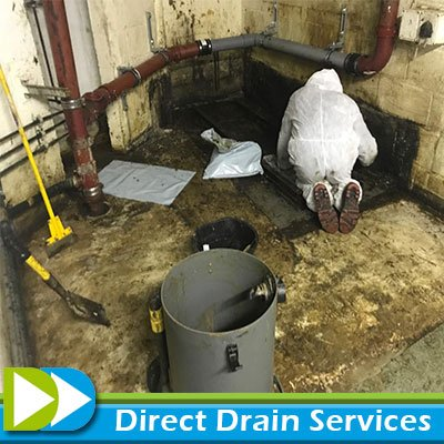 Cleaning the grease trap