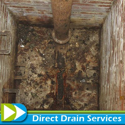 Broken drain repairs in Islington